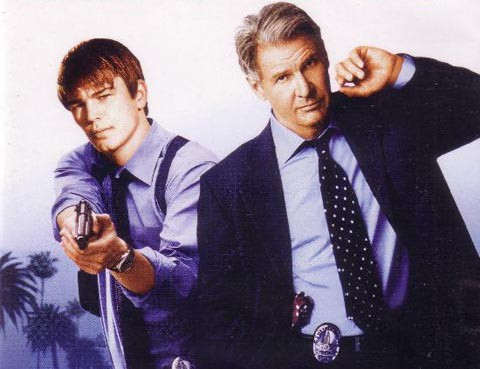 Josh Harnett y Harrison Ford