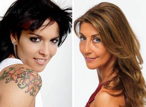 Lorena Castell y Raquel Chamorro