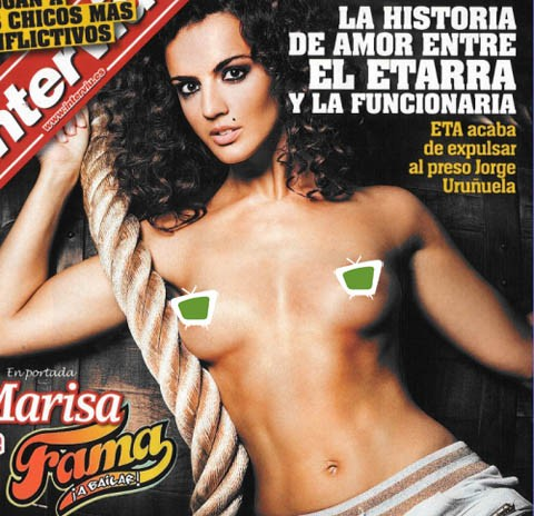 Marisa, de Fama 1, se desnuda en Interviú