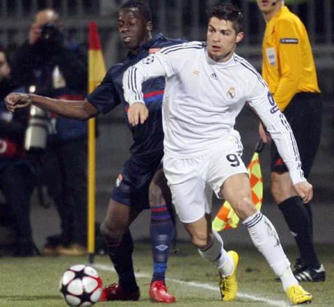 Cristiano Ronaldo en Lyon