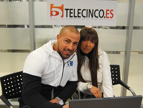 Rafa Mora y Raquel García