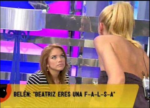 Beatriz Trapote se siente una víctima de Belén Esteban