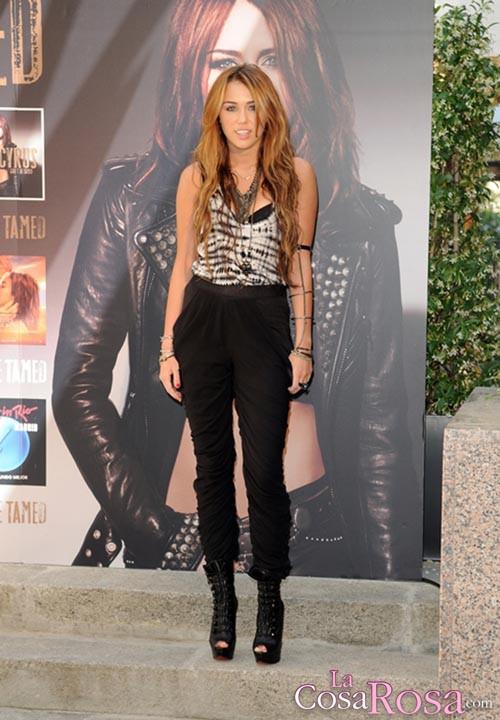 Miley Cyrus en Madrid