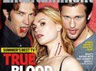 Stephen Moyer, Anna Paquin y Alexander Skarsgard, el trío más hot del verano en Entertainment Weekly
