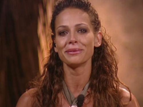 Eva González llorando