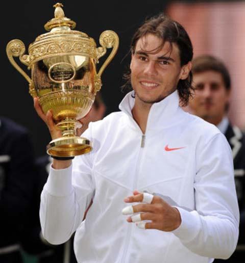 Rafa Nadal gana Wimbledon