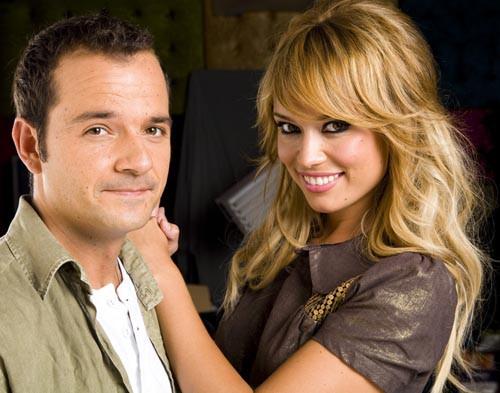 Ángel Martín y Patricia Conde
