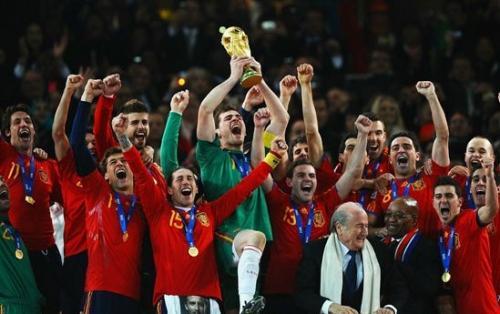 España, campeona de Mundial de Sudáfrica 2010