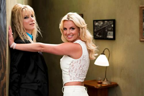 Heather Morris y Britney Spears