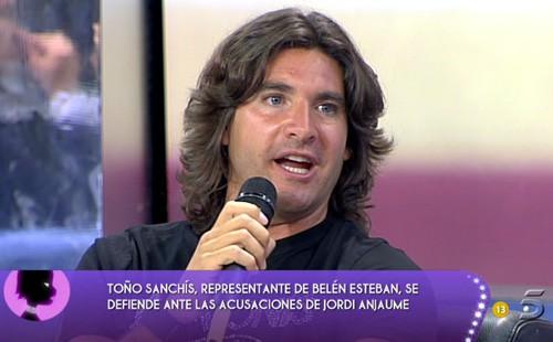 Toño Sanchís en Sálvame Deluxe