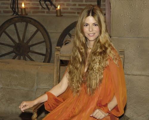 Manuela Velasco debuta esta noche en Águila Roja