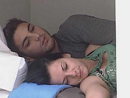 Laura y Marcelo en Gran Hermano 12