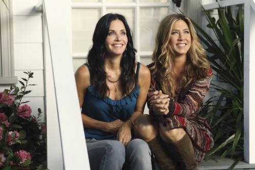 Corteney Cox y Jennifer Aniston