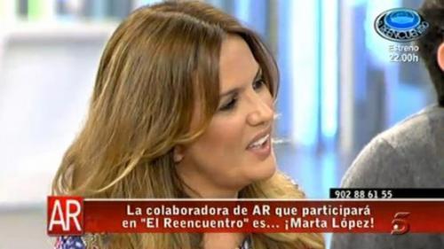 Marta López entra en El reencuentro: diez años después por problemas económicos - martalopezreencuentro