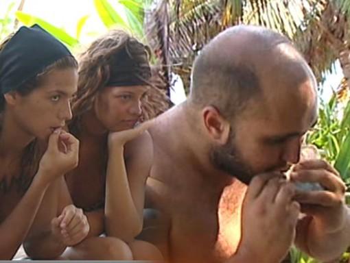 Kiko Rivera y sus bocadillos en Supervivientes