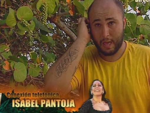 La Pantoja anima a Paquirrín a seguir en Supervivientes