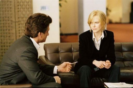 Nicole Kidman y Sean Penn en La intérprete