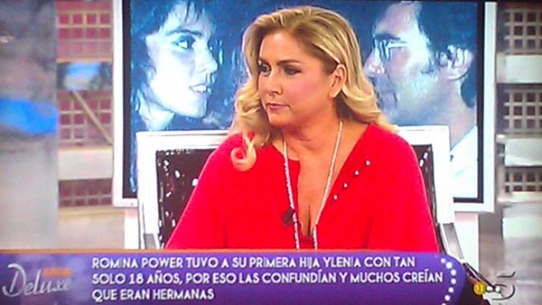 Romina Power arrasa en Telecinco