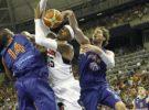 El España-Estados Unidos de baloncesto vence a Juego de Tronos