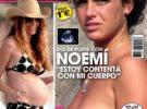 Noemí, de Gran Hermano 12+1, topless en la revista Sálvame