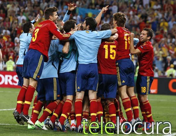 Los penaltis de la semifinal España-Portugal de la Eurocopa, lo más visto de 2012