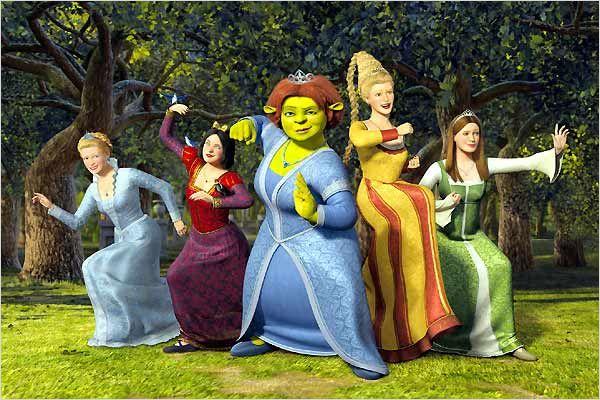 Shrek Tercero domina el prime time en Telecinco