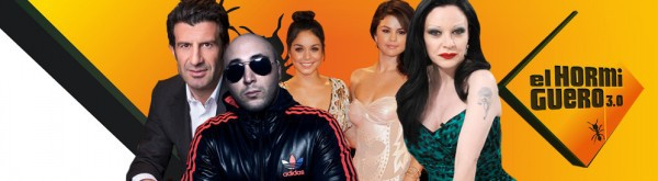 Alaska, Kiko Rivera, Figo, Selena Gomez y Vanessa Hudgens, en El Hormiguero