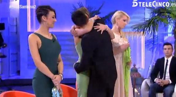 Santana elige a Yanira en Mujeres y Hombres y Viceversa
