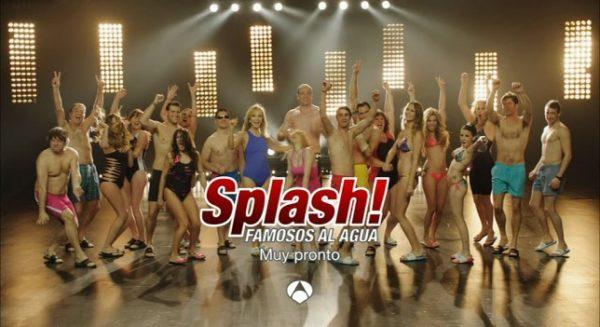Estos son los participantes de Splash, Famosos al agua