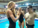 Pésimo espíritu deportivo de Romina Belluscio en Splash!