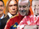 Iggy Pop, Miguel Ángel Revilla, Chicote y Vicente del Bosque en El Hormiguero 3.0