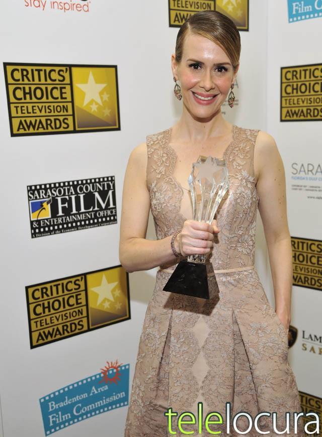Ganadores de los premios Critics' Choice Television 2013