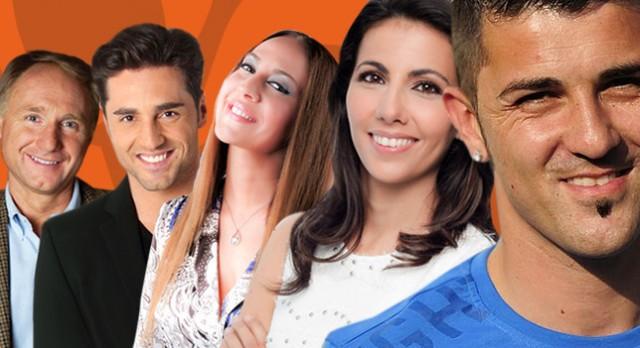 David Villa, Dan Brown, David Bustamante, Mónica Naranjo y Ana Pastor en El Hormiguero