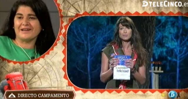 Lucía Etxebarría se va del Campamento de verano de Telecinco