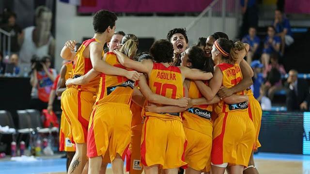 La selección española femenina de baloncesto lidera las audiencias de la TDT