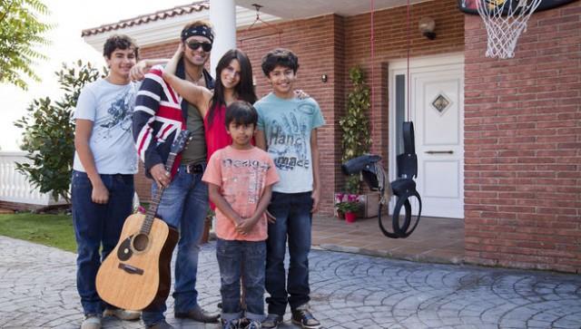 La familia de Coyote Dax en Me cambio de familia