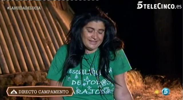 Lucía Etxebarria amenaza con abandonar de nuevo Campamento de verano