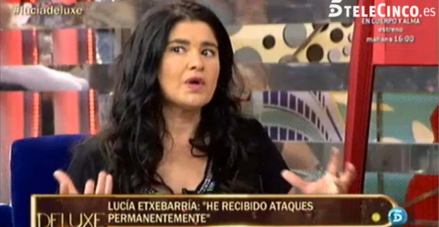 Sálvame Deluxe domina con Lucía Etxebarría