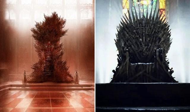 George R.R. Martin no concibe su trono de hierro como HBO