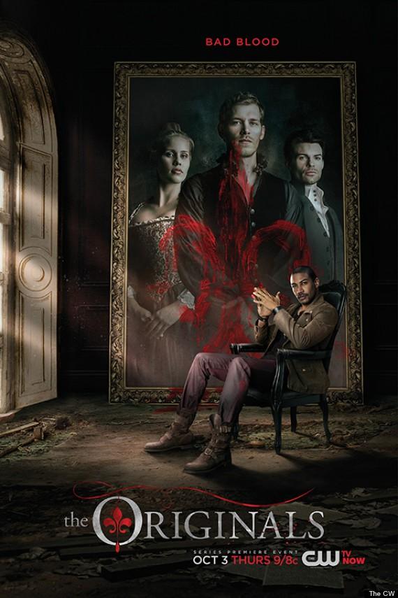 The CW hace públicos los posters de The Originals, The Tomorrow People y Reign