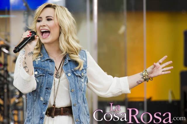 Demi Lovato aparecerá en varios capítulos de la quinta temporada de Glee