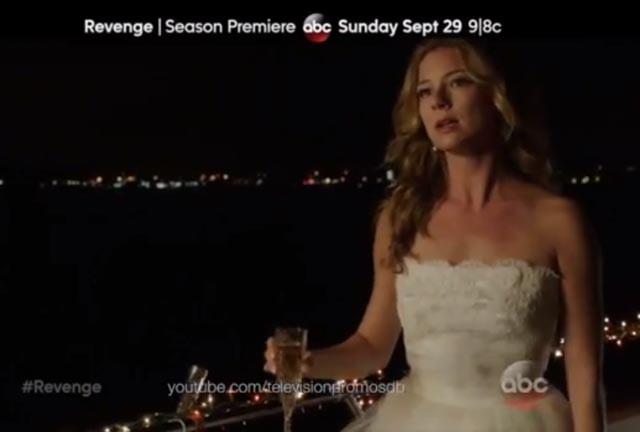 Impactante promo de la tercera temporada de Revenge