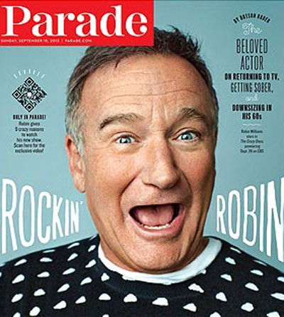 Robin Williams vuelve a la televisión para pagar facturas