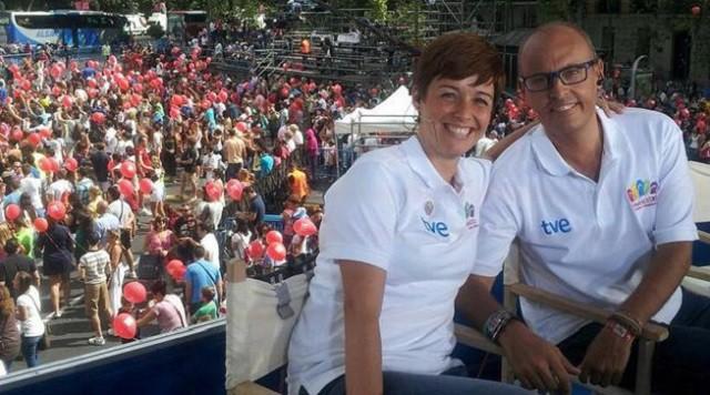 La presentadora de España Directo sufre quemaduras por un fallo