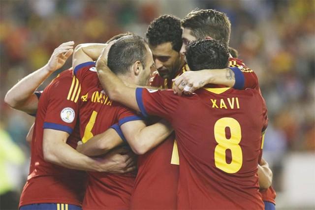 El España-Georgia reúne a más de 6,5 millones de espectadores