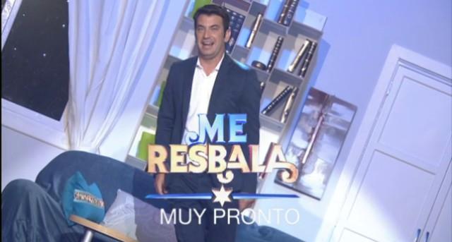 Antena 3 promociona Me resbala con Arturo Valls