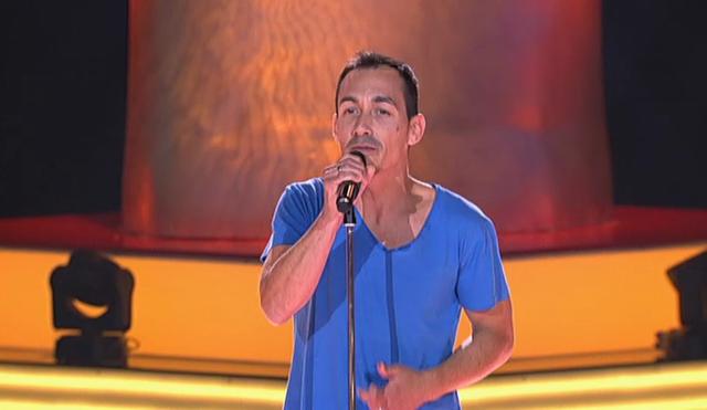 El ex vocalista de La Caja de Pandora en La Voz