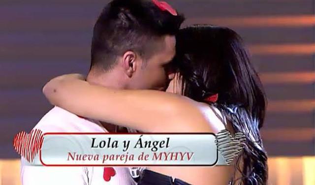 Lola se va con Ángel