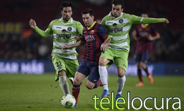 El Barcelona-Getafe supera los 3,5 millones en Antena 3