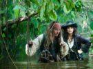 Piratas del Caribe: en mareas misteriosas, sin rival en la noche de Año Nuevo